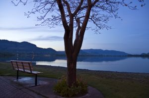 Peaceful Sunrise in Osoyoos, BC